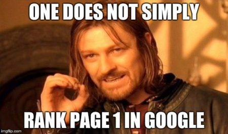 page 1 google seo meme Humor: Die besten Witze nur für SEOs
