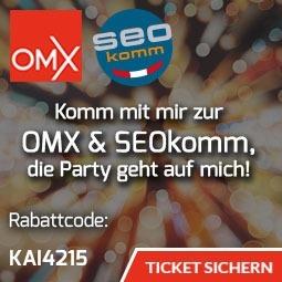 SEOKomm 2017 Rabattcode