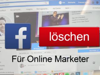 facebook profil loeschen