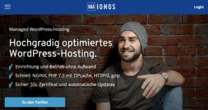 1und1 ionos wordpress hosting Wer bietet das beste WordPress-Hosting? Die wichtigsten Hoster im Vergleich