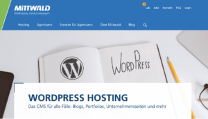 mittwald WordPress-Hosting