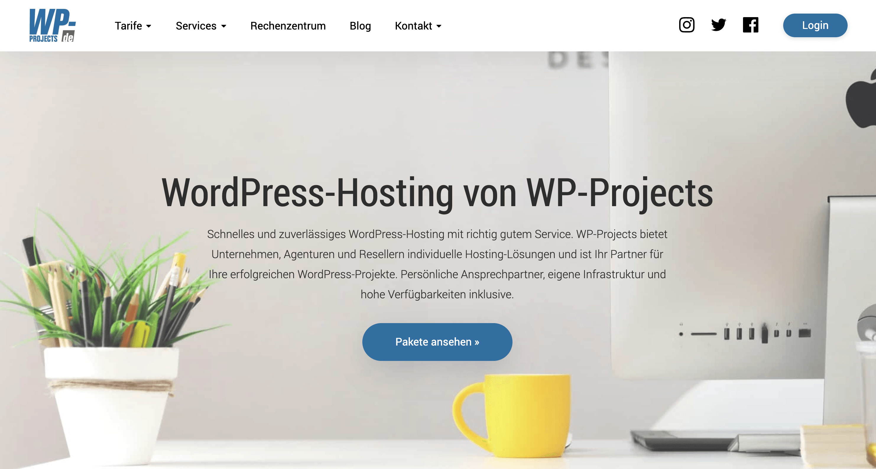 WP-Projects WordPress-Hosting