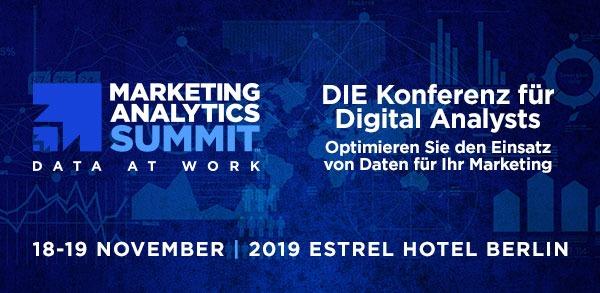 DIE Konferenz für Digital Analysts. Optimieren Sie den Einsatz von Daten für Ihr Marketing.