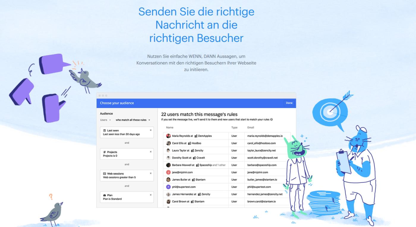 Intercom e1564995928496 Die besten Live-Chat-Plugins für WordPress