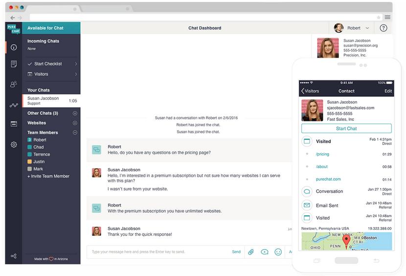 Pure Chat Die besten Live-Chat-Plugins für WordPress