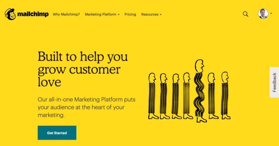 mailchimp - Built to help you grow customer lover