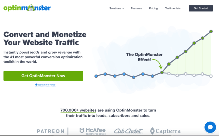 optinmonster - Convert and Monetize Your Website Traffic