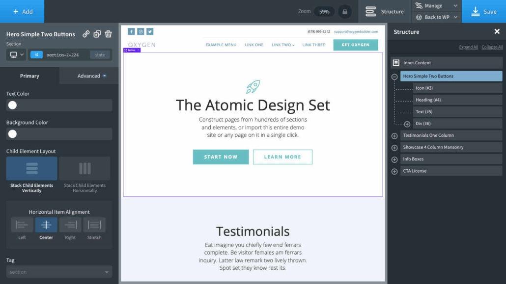 Oxygen WordPress Page-Builder