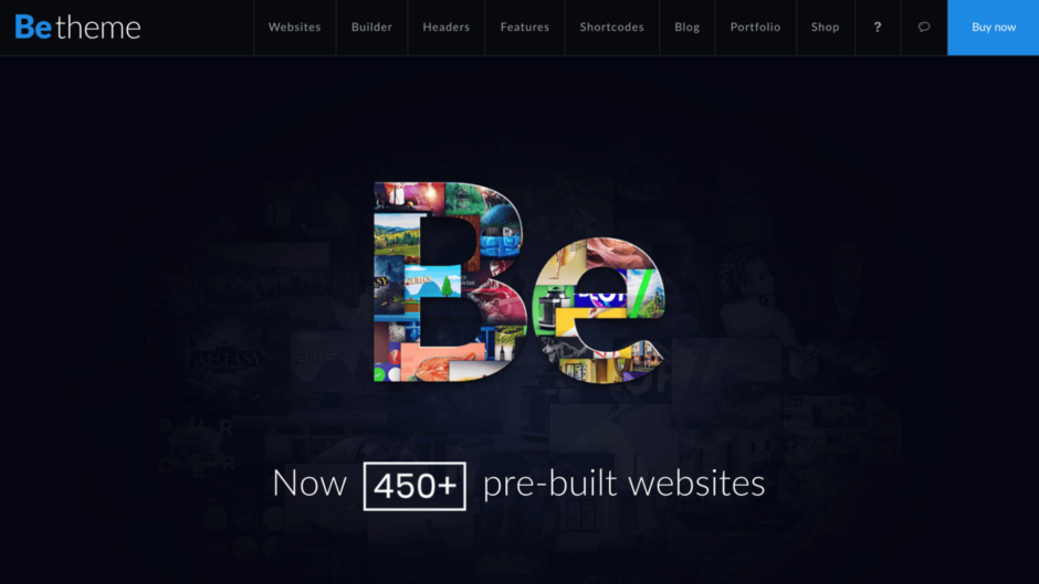 BeTheme - 450+ pre-built websites