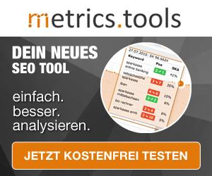Metrics.tools - Dein Neues SEO-Tool!