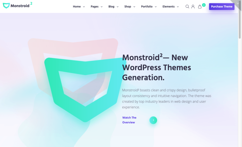 Monstroid2 - New WordPress Themes Generation.