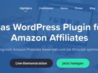 Das WordPress Plugin für Amazon Affiliates
