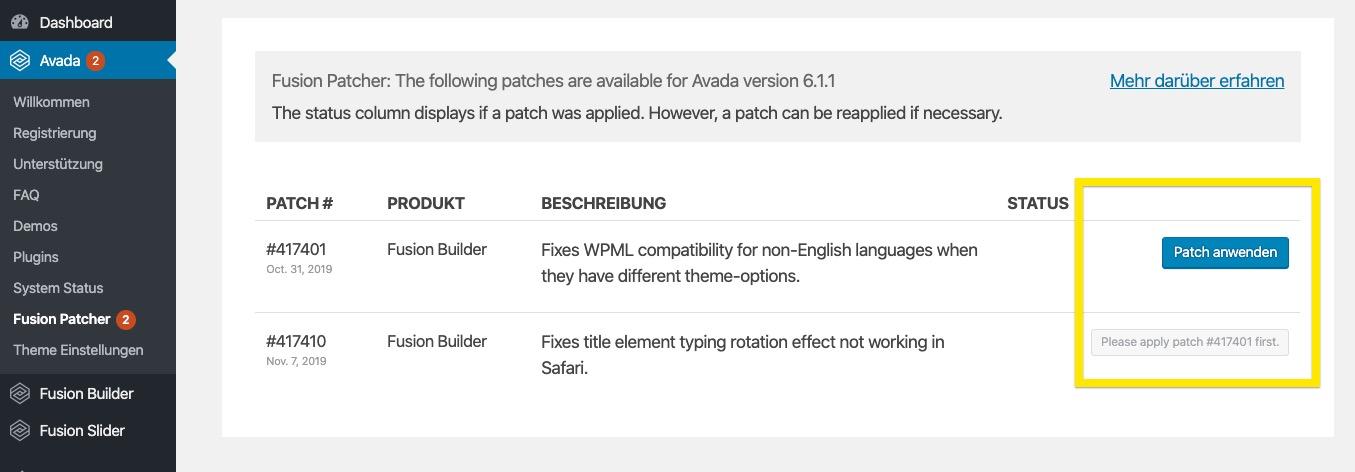 avada patcher Avada Theme auf Deutsch – das Top WordPress-Theme kaufen