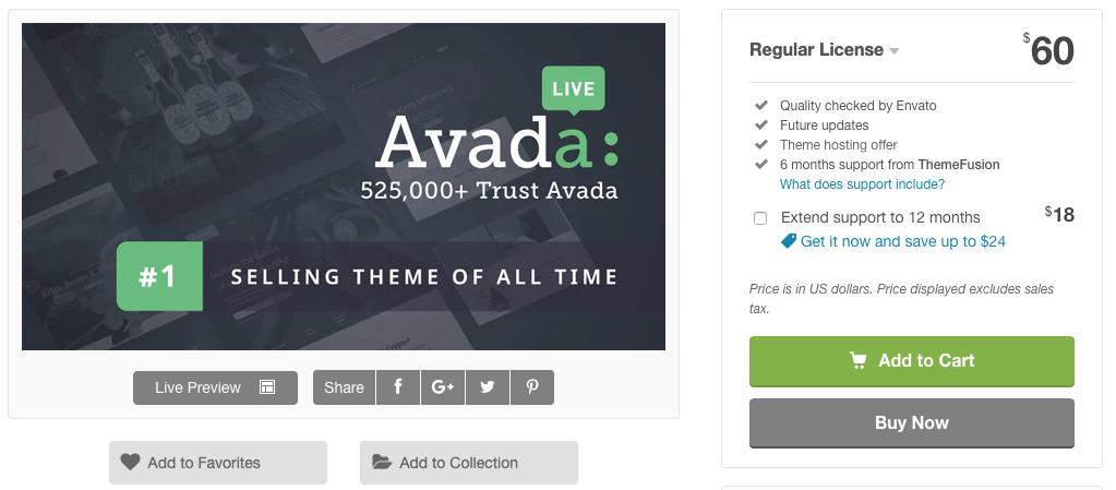 avada pricing 1 Avada Theme auf Deutsch – das Top WordPress-Theme kaufen