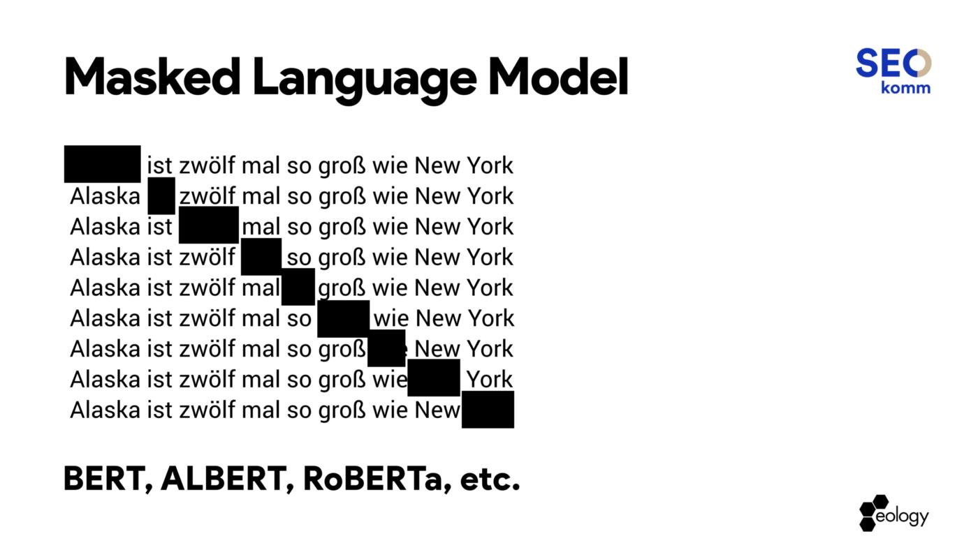 masked language modell