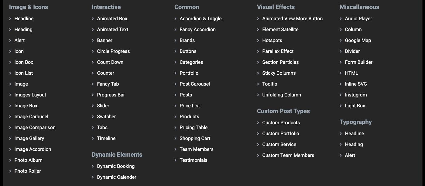 jupiter content elemente Tutorial: Jupiter X auf Deutsch – das beliebte Elementor Theme für WordPress kaufen