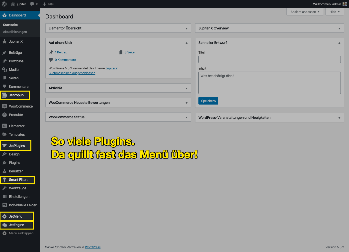 jupiter features Tutorial: Jupiter X auf Deutsch – das beliebte Elementor Theme für WordPress kaufen