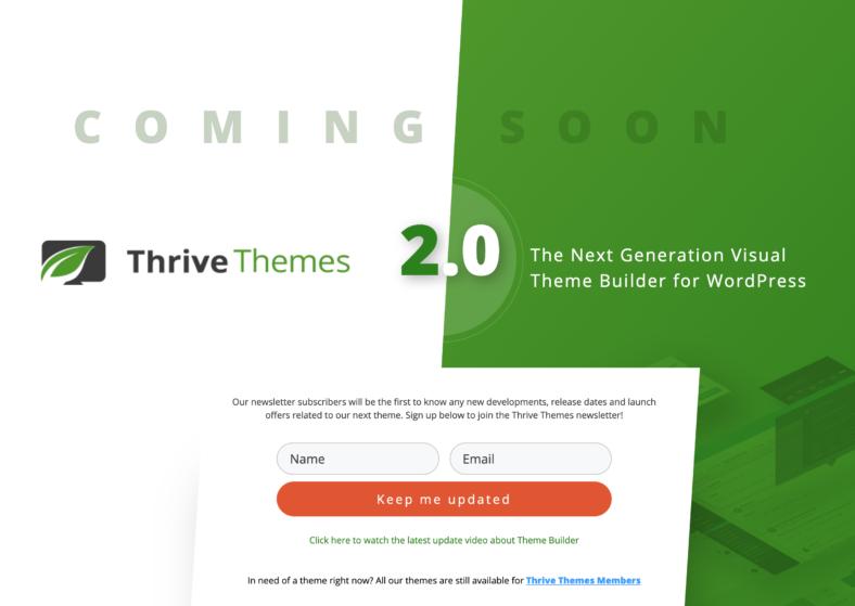 Alternativen zu Thrive Themes - Kommt 2.0 überhaupt?