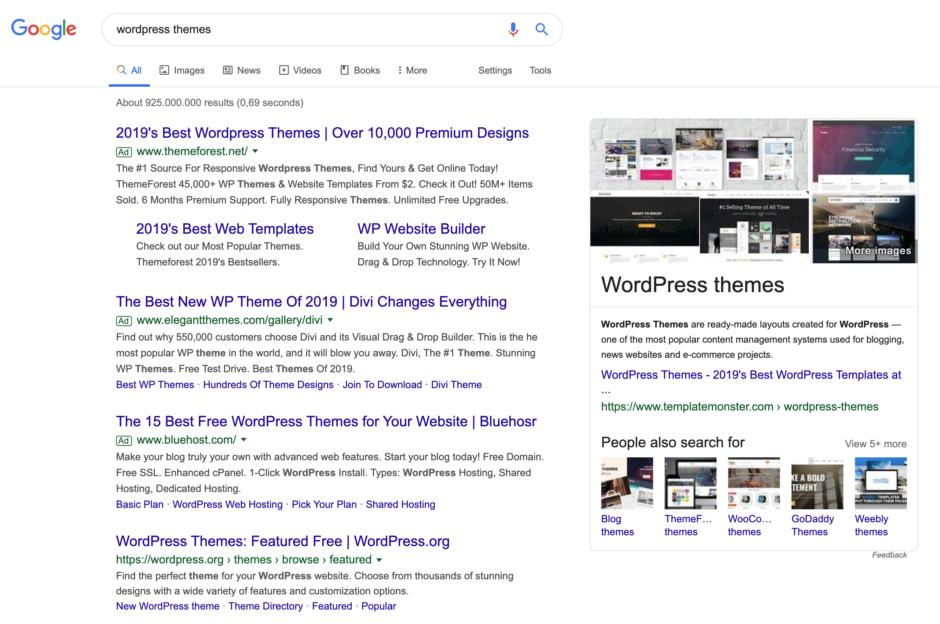 wordpress themes entity Googles BERT-Update ist da! Was musst Du darüber wissen?