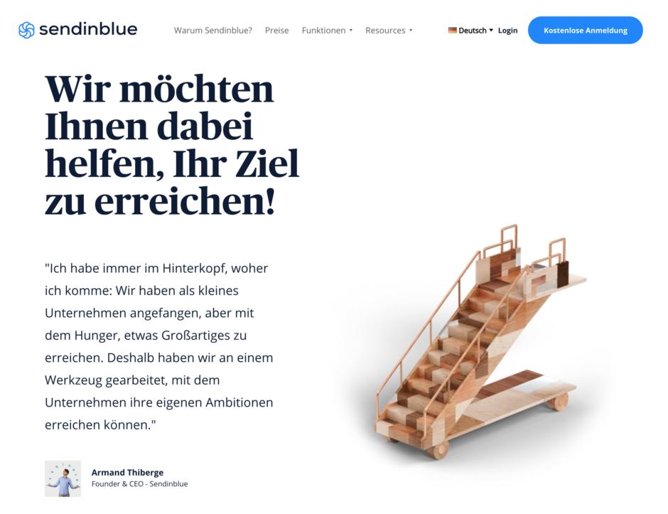 sendinblue Die besten Newsletter-Plugins für WordPress - DSGVO-konform!