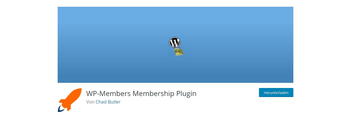 WP Members Die besten Membership-Plugins 2021 für Mitgliederbereiche mit WordPress