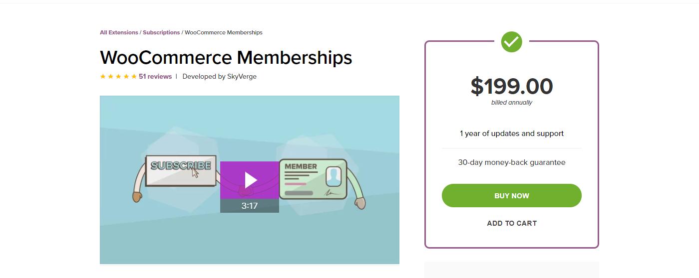 WooCommerce Memberships Die besten Membership-Plugins 2021 für Mitgliederbereiche mit WordPress