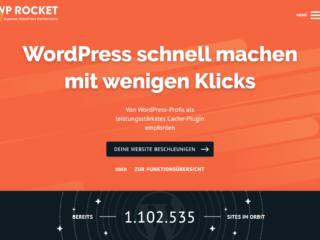 wp rocket me 20200511 WP Rocket 3.9 im Test: Die Rakete unter den WordPress-Caching-Plugins / Update Juli 2021