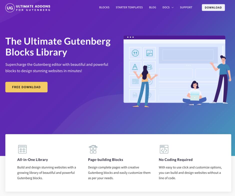 The Ultimate Gutenberg Blocks Library