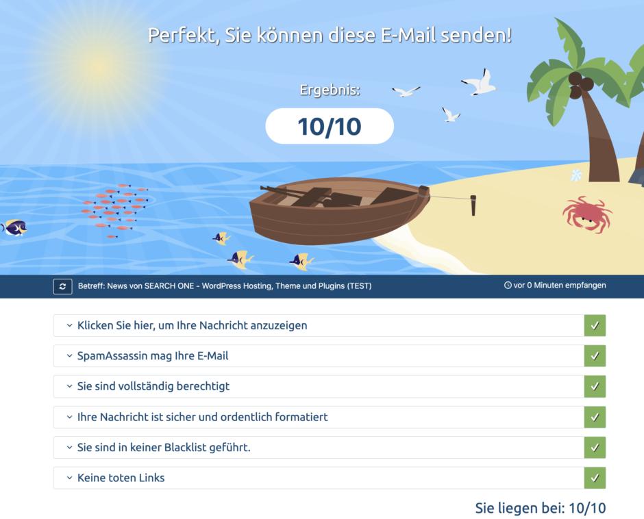 perfekter mail spam test Teste Deine E-Mails auf Spamverdacht VOR dem Newsletter-Versand