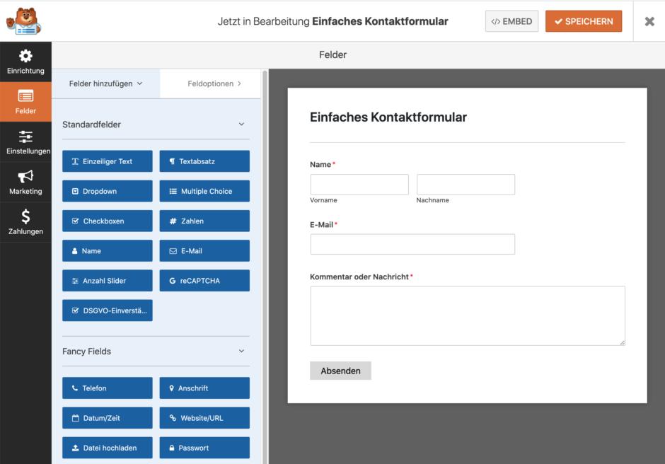wpforms tutorial So erstellst Du ein Mehrseitiges Formular mit Datenübergabe in WordPress