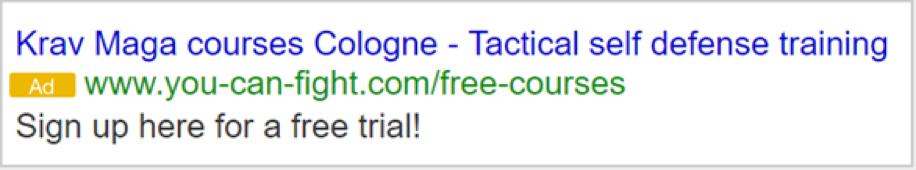 ad3 Google Ad Grants Online Marketing Challenge (OMC)