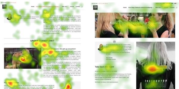 eye tracking Google Ad Grants Online Marketing Challenge (OMC)