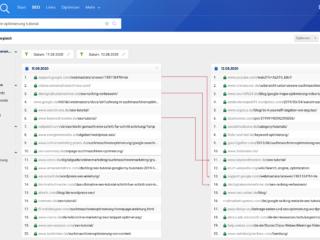 google optimierung tutorial serp vergleich SEO-Tool Geheimtipp: Mit SERP-Vergleichen bei SISTRIX den Google-Bug analysiert!