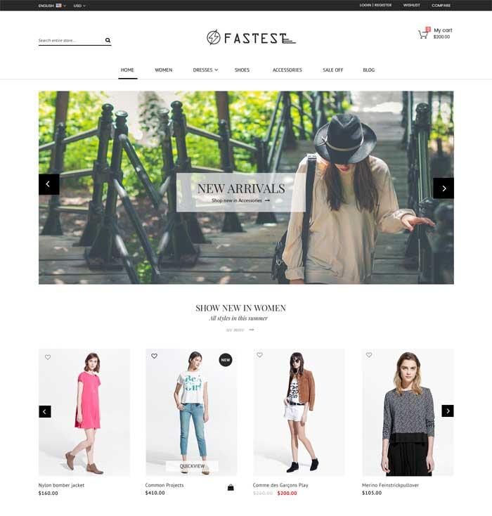FASTEST Website