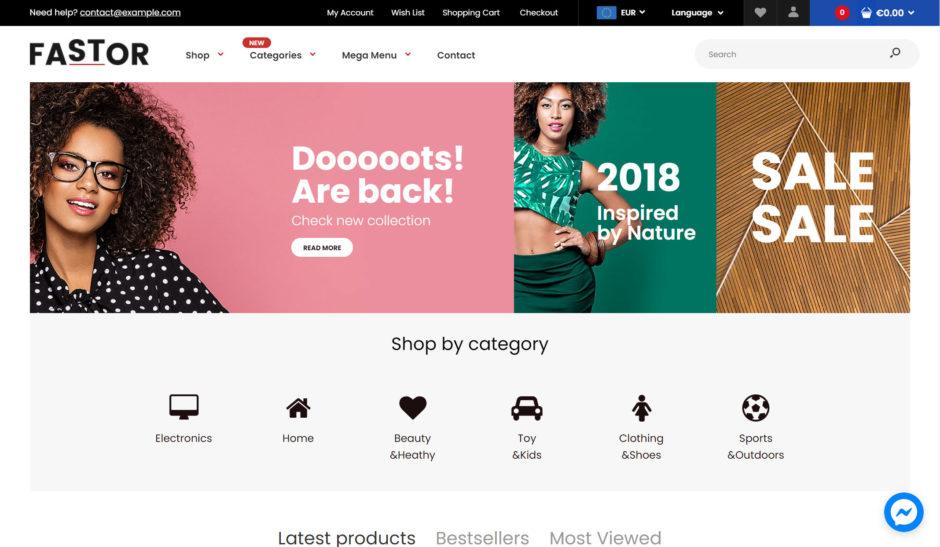 Fastor Shopify Theme