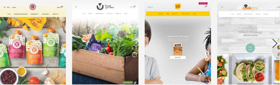 Shopify Theme Foodly Demos