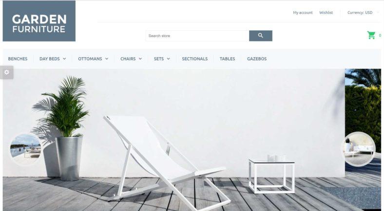 GARDEN FURNITURE website
