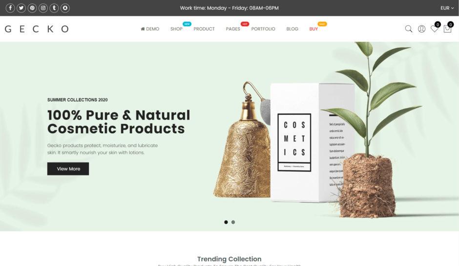 Gecko Shopify Theme