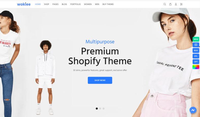 wokiee - Multipurpose Premium Shopify Theme