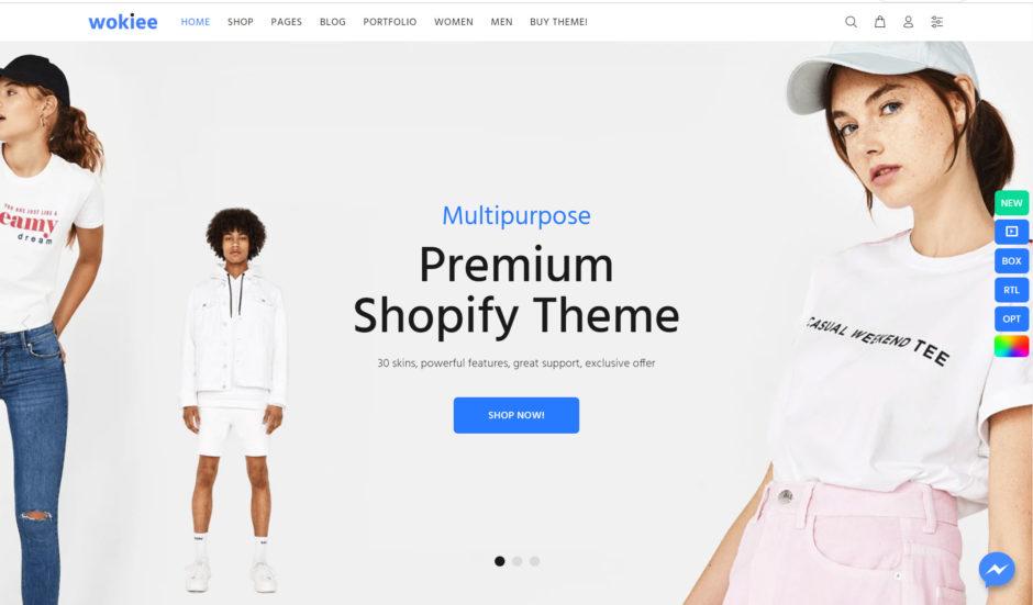 Wookie Shopify Theme