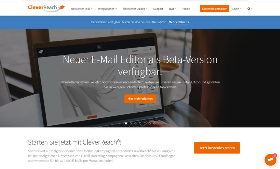 Newsletter-Tool CleverReach
