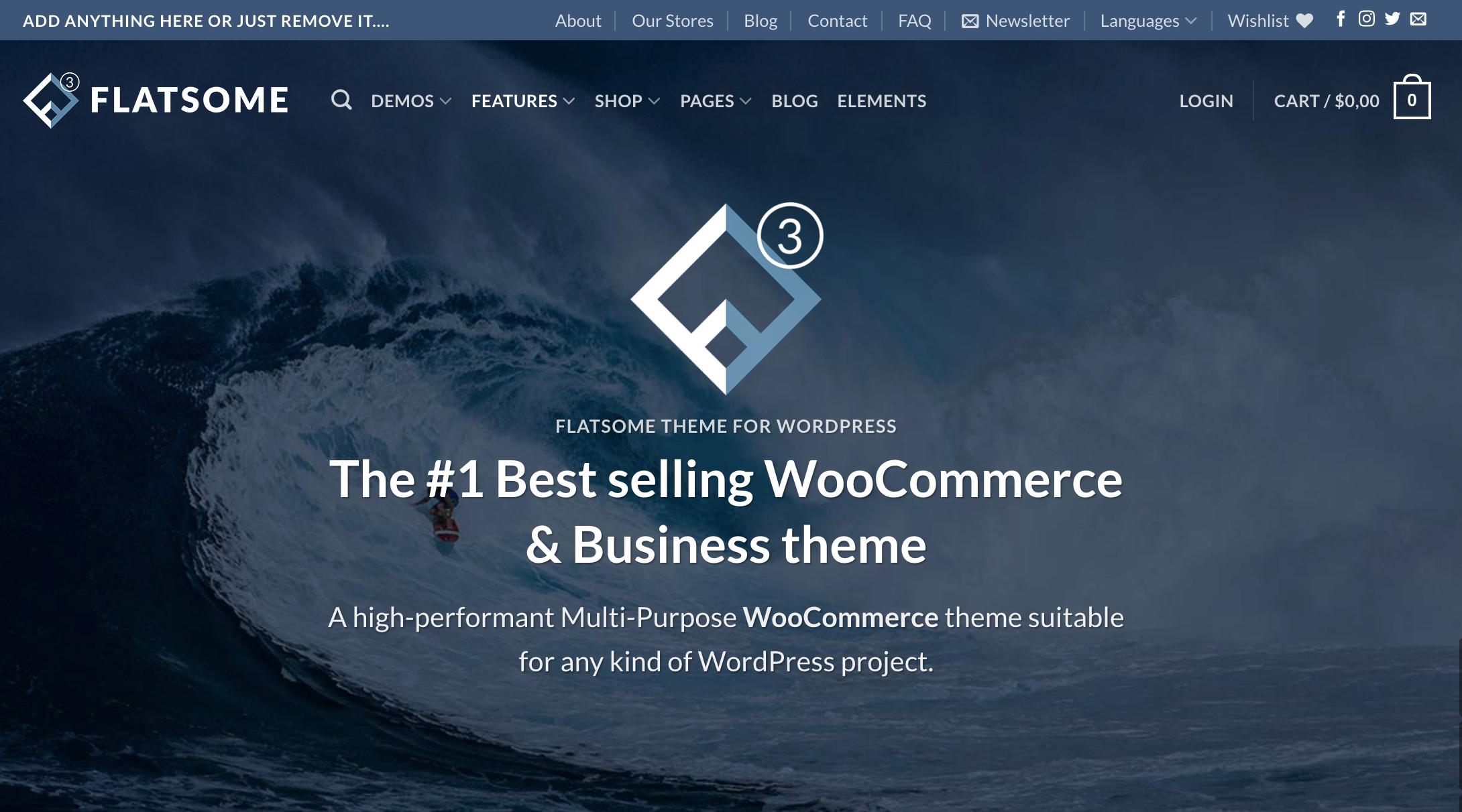 Flatsome Theme für WordPress und WooCommerce