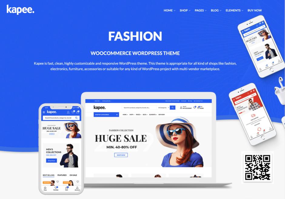 kapee. - FASHION WooCommerce WordPress Theme
