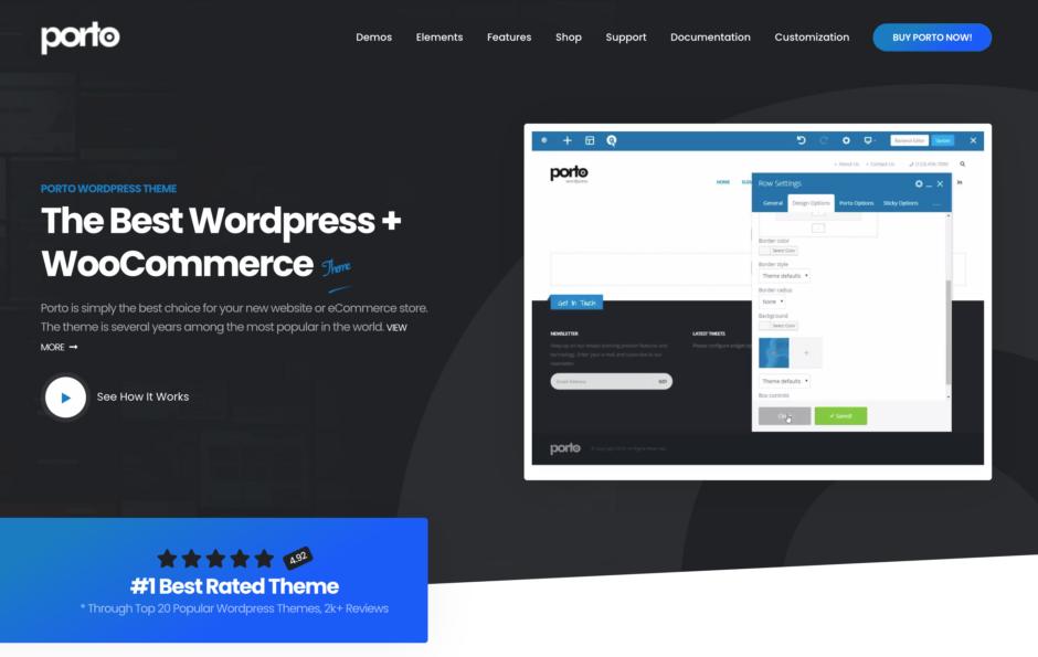 porto - The Best WordPress + WooCommerce Theme