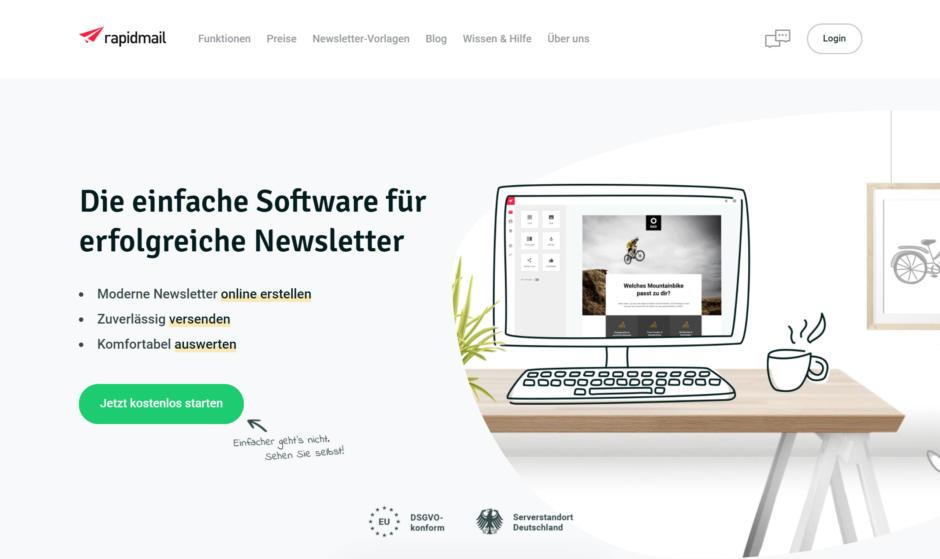 Newsletter-Tool Rapidmail