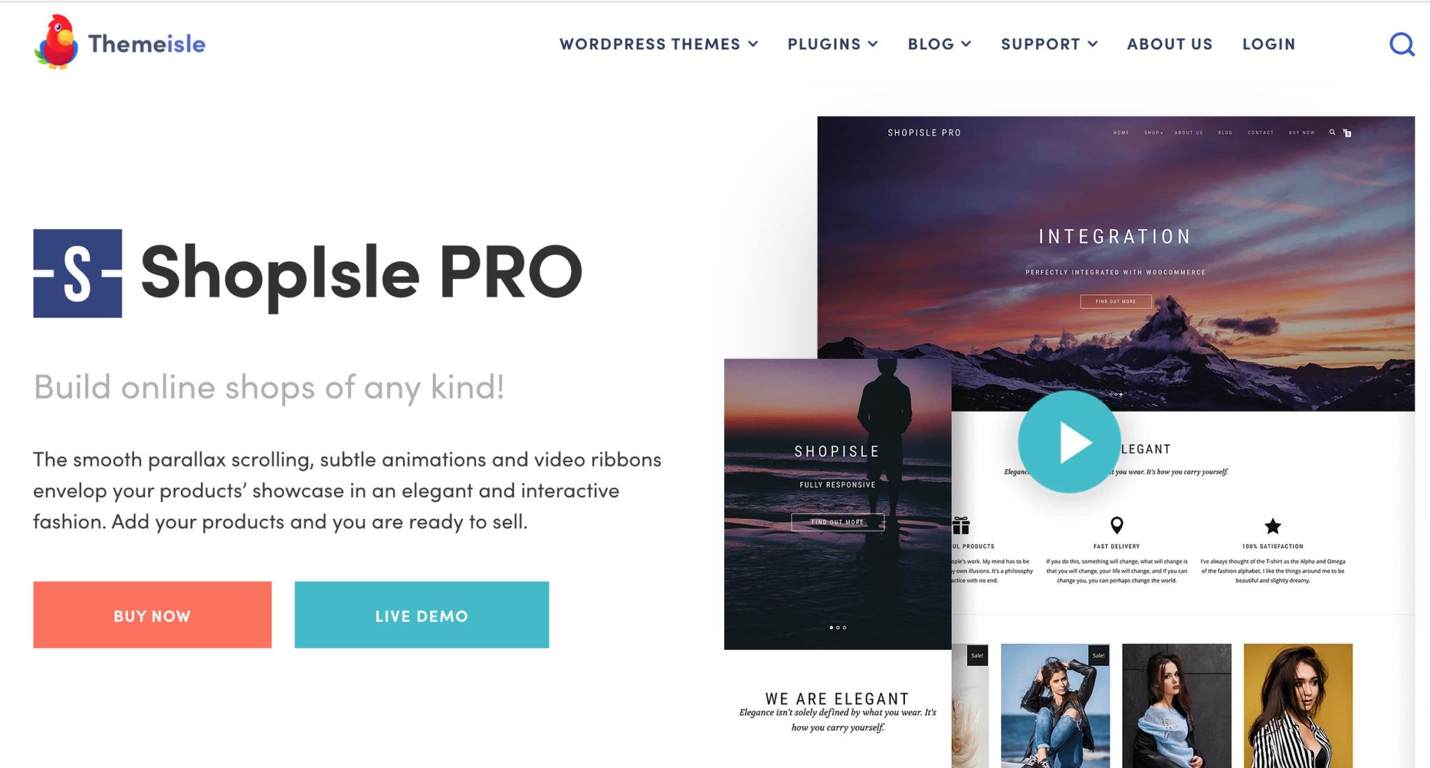 ShopIsle Premium WooCommerce Theme