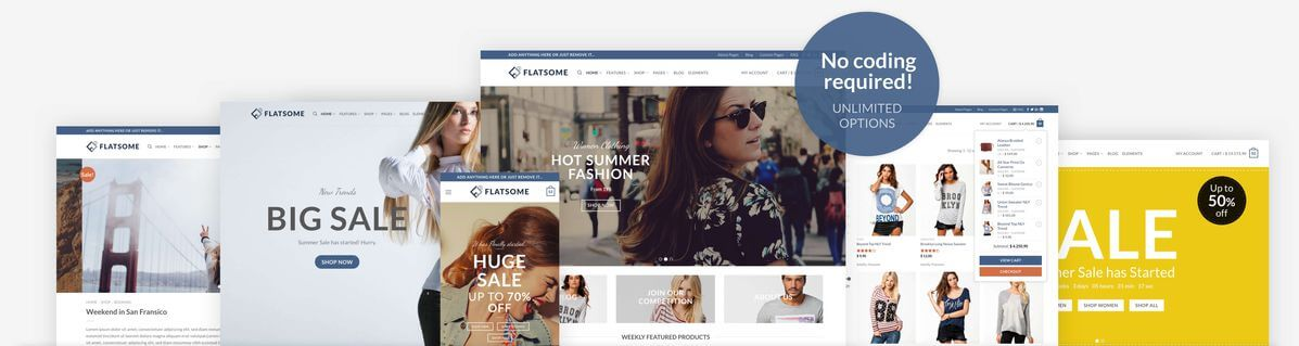 Flatsome Theme Preview