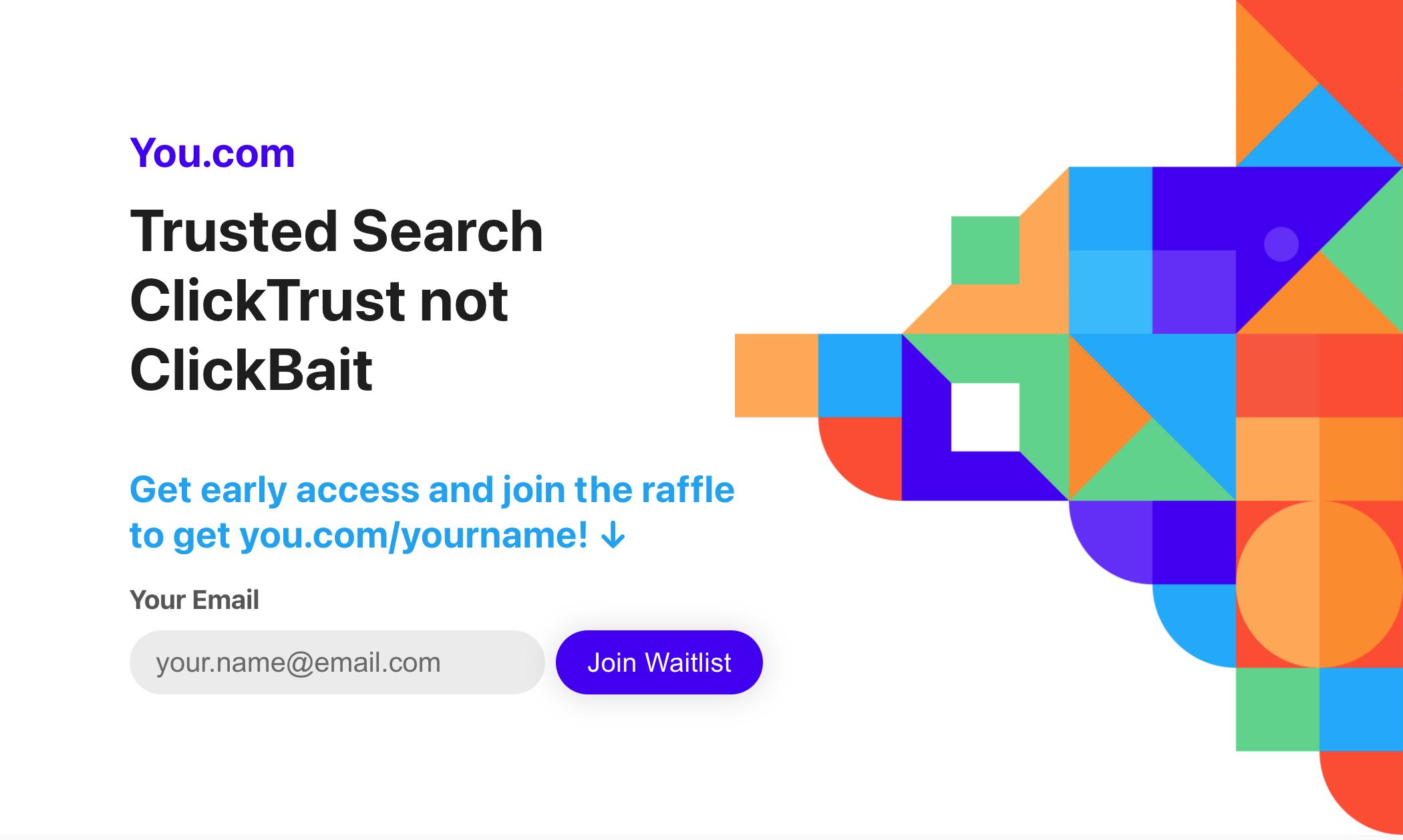 you Google bekommt Konkurrenz! You.com startet neue Suchmaschine mit Fokus auf Vertrauen und Datenschutz