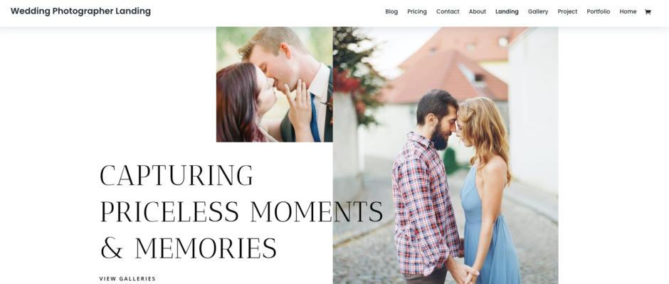 Divi Die besten WordPress-Themes für Fotografen