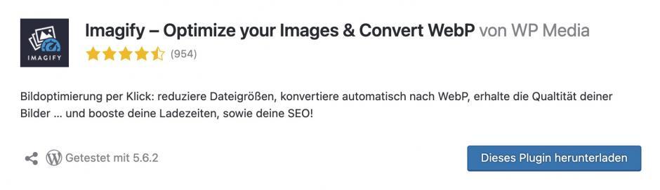 imagify Meine Lieblings-WordPress-Plugins